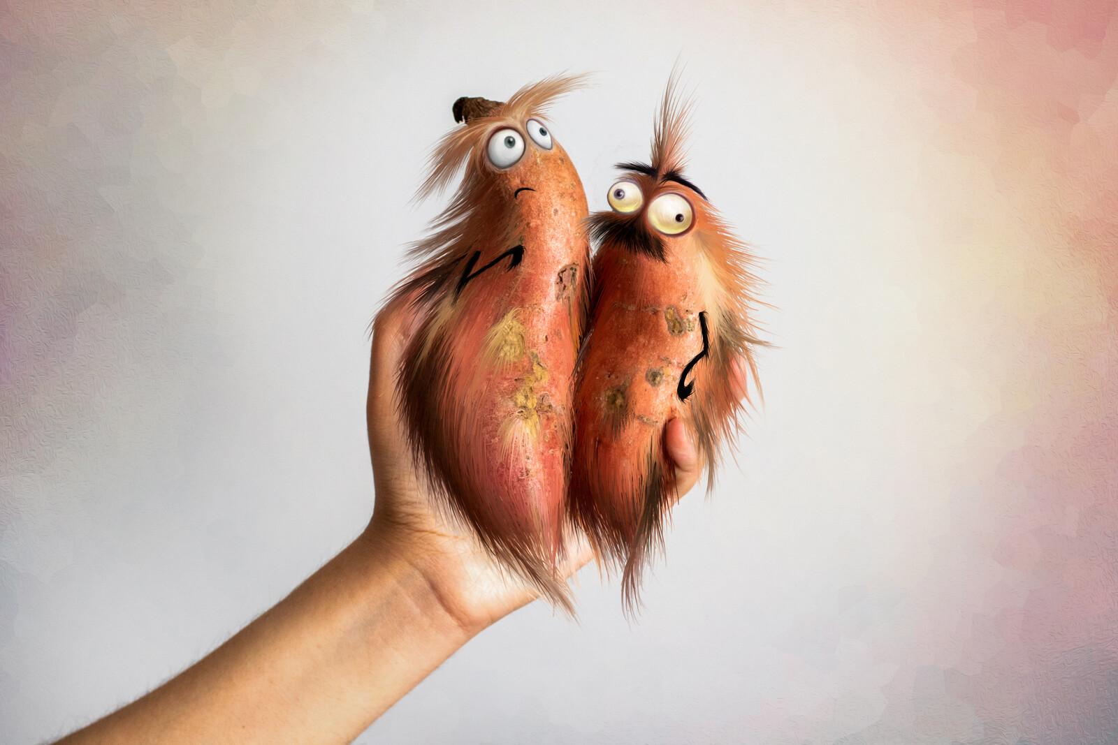 Sweet Potatoes Creatures