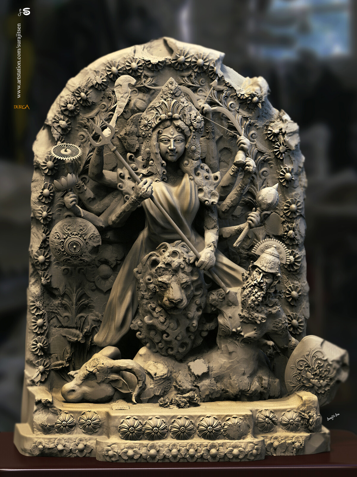 Wish to share one of my Digital Sculptures....