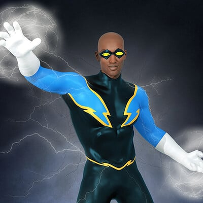 Roger patterson jr black lightening