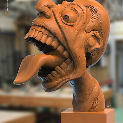 Surajit sen heri digital sculpture surajitsen march2020s