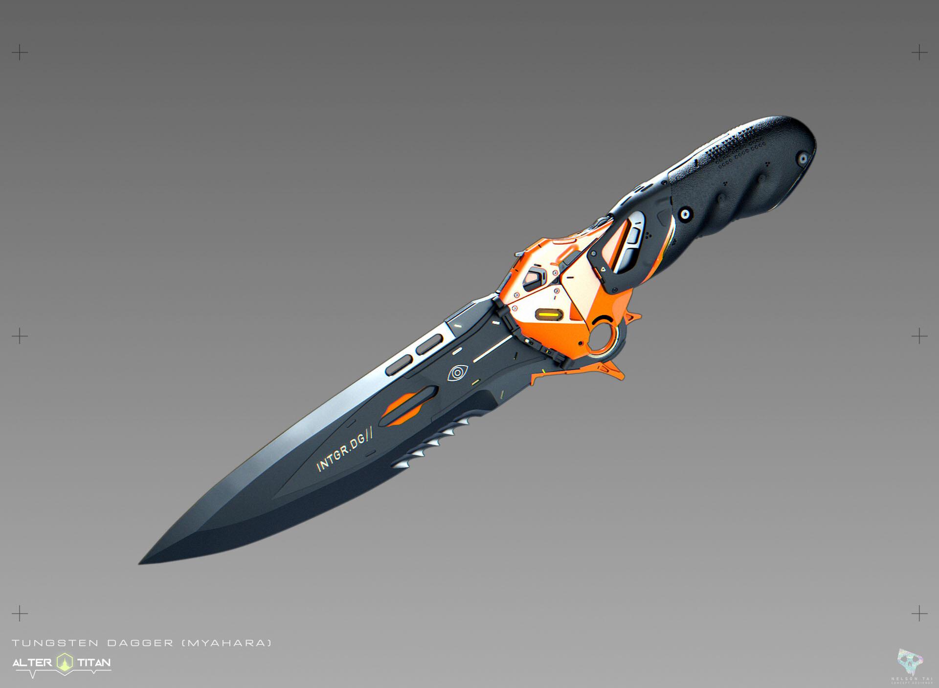 The Tungsten Dagger