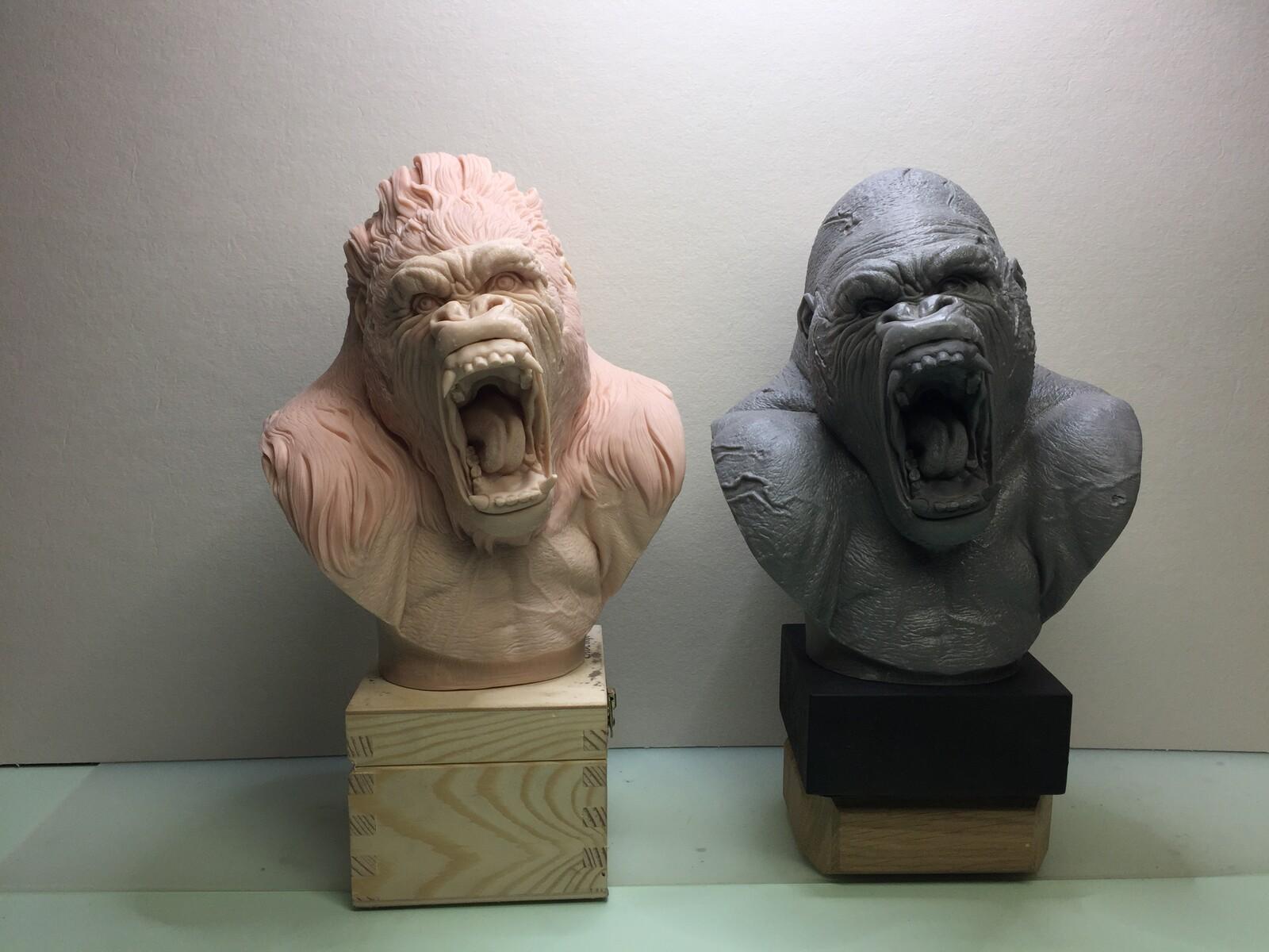 Gorillas busts