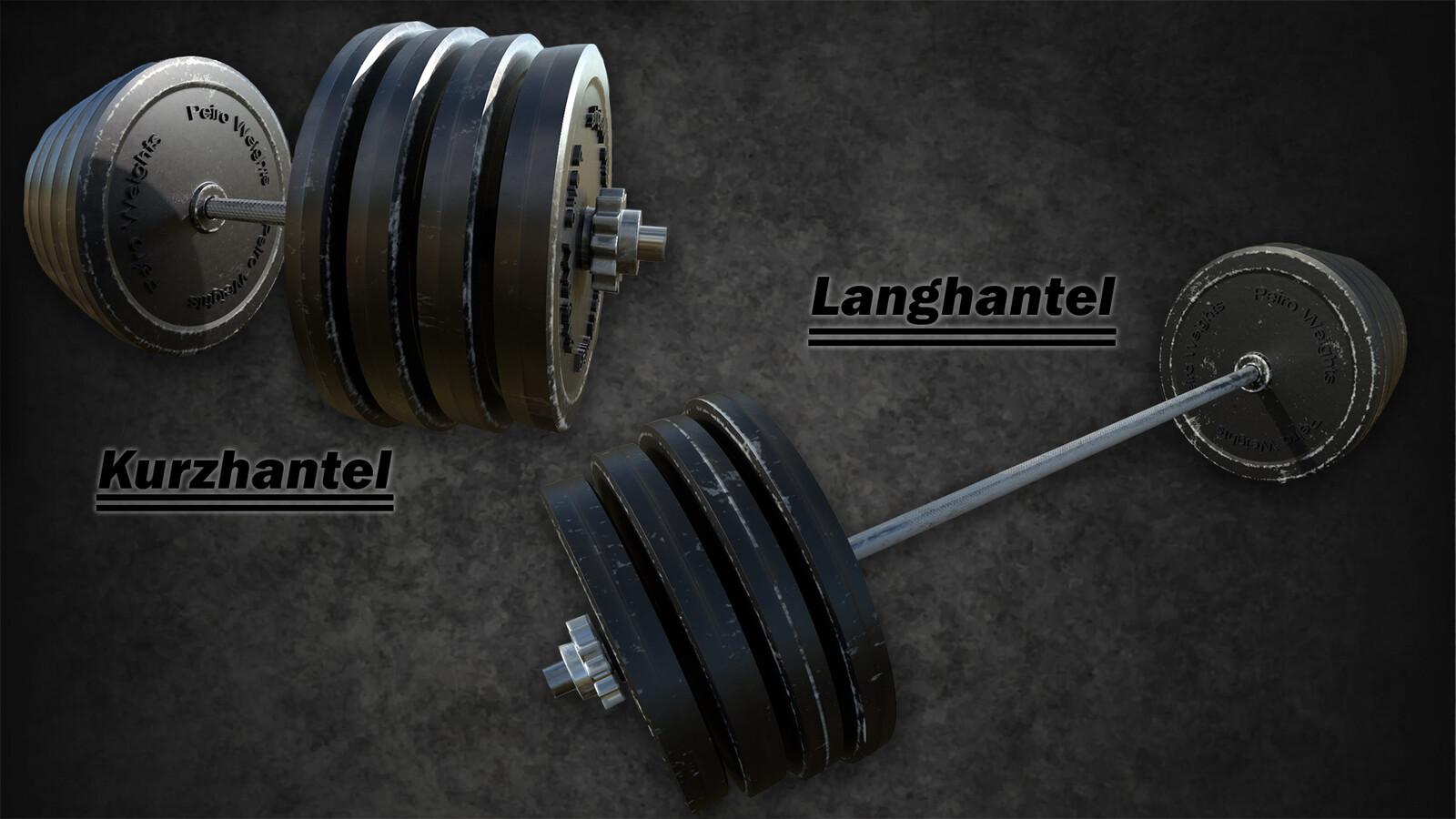 different weights