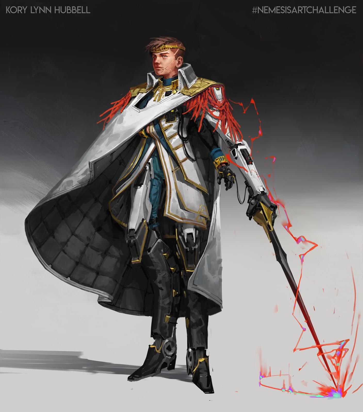 NEMESISARTCHALLENGE 1 Villain: Supreme Lord Kerall