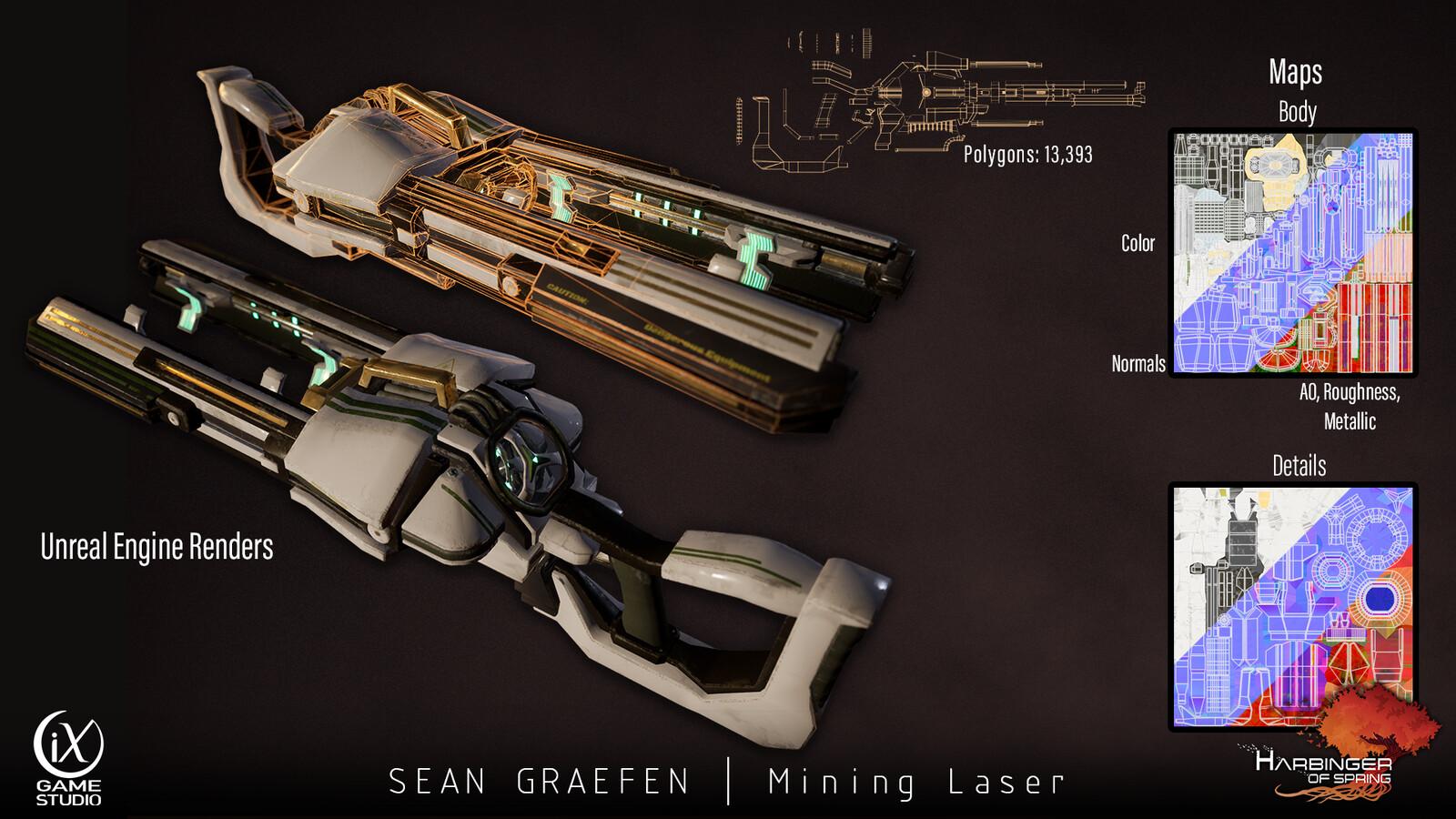 Mining Laser Model Sheet