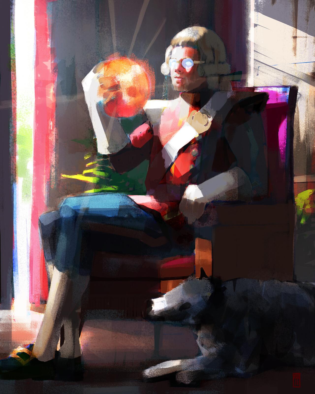 Sun King//Sketch/Test