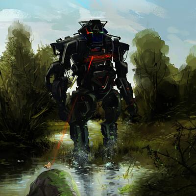 Kishore ghosh river side robot1