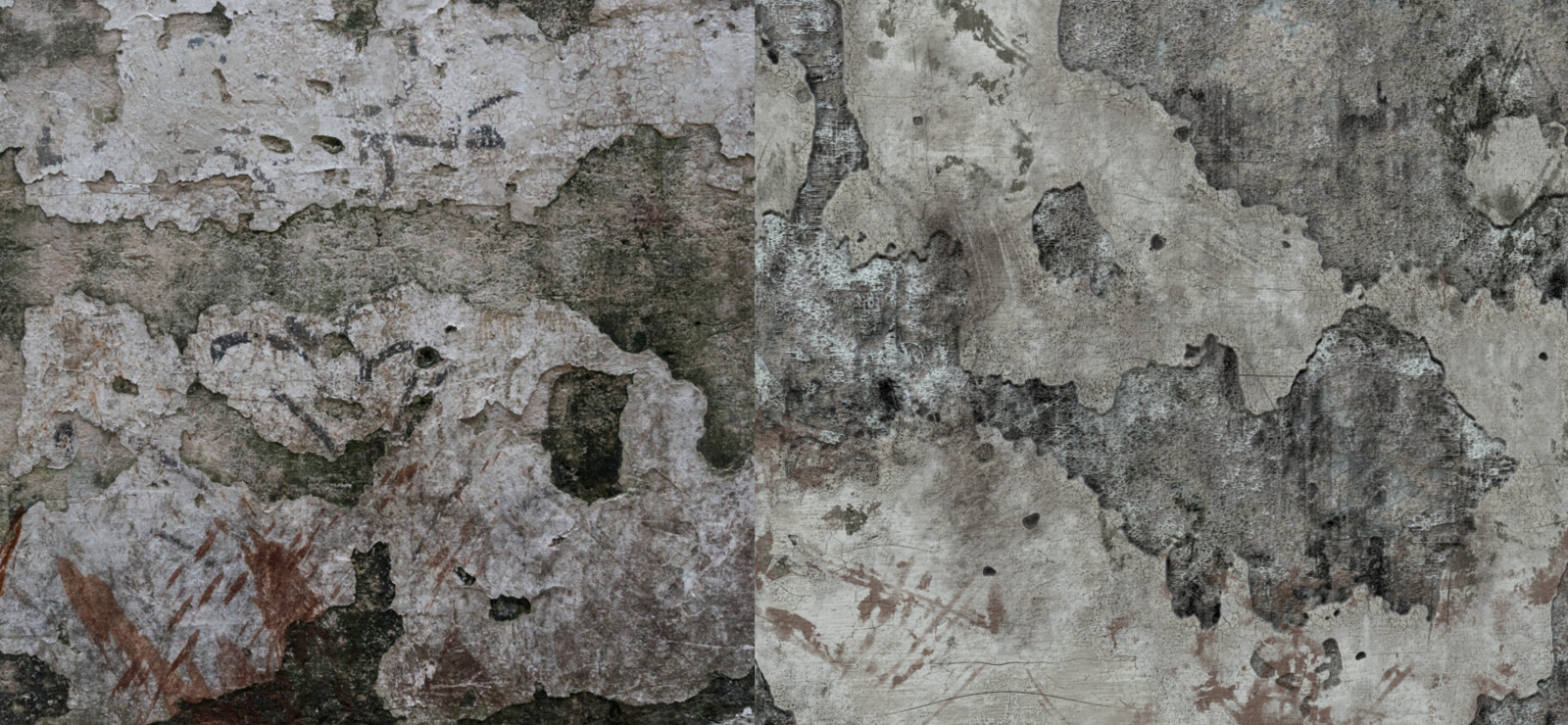 Reference vs material comparison