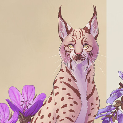 Sophie pfrotzschner 20 03 21 floral lynx