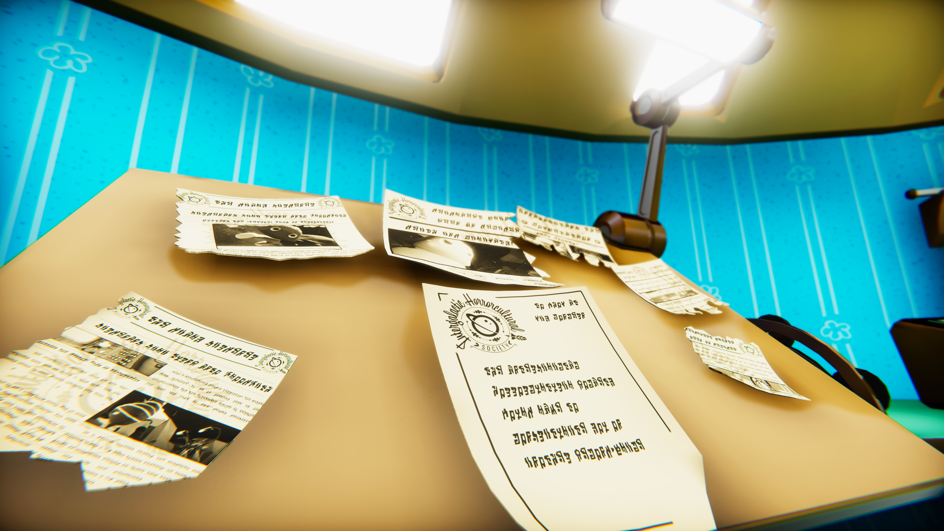We had an assortment of information to deliver visually, much of it was done through paper interactions.