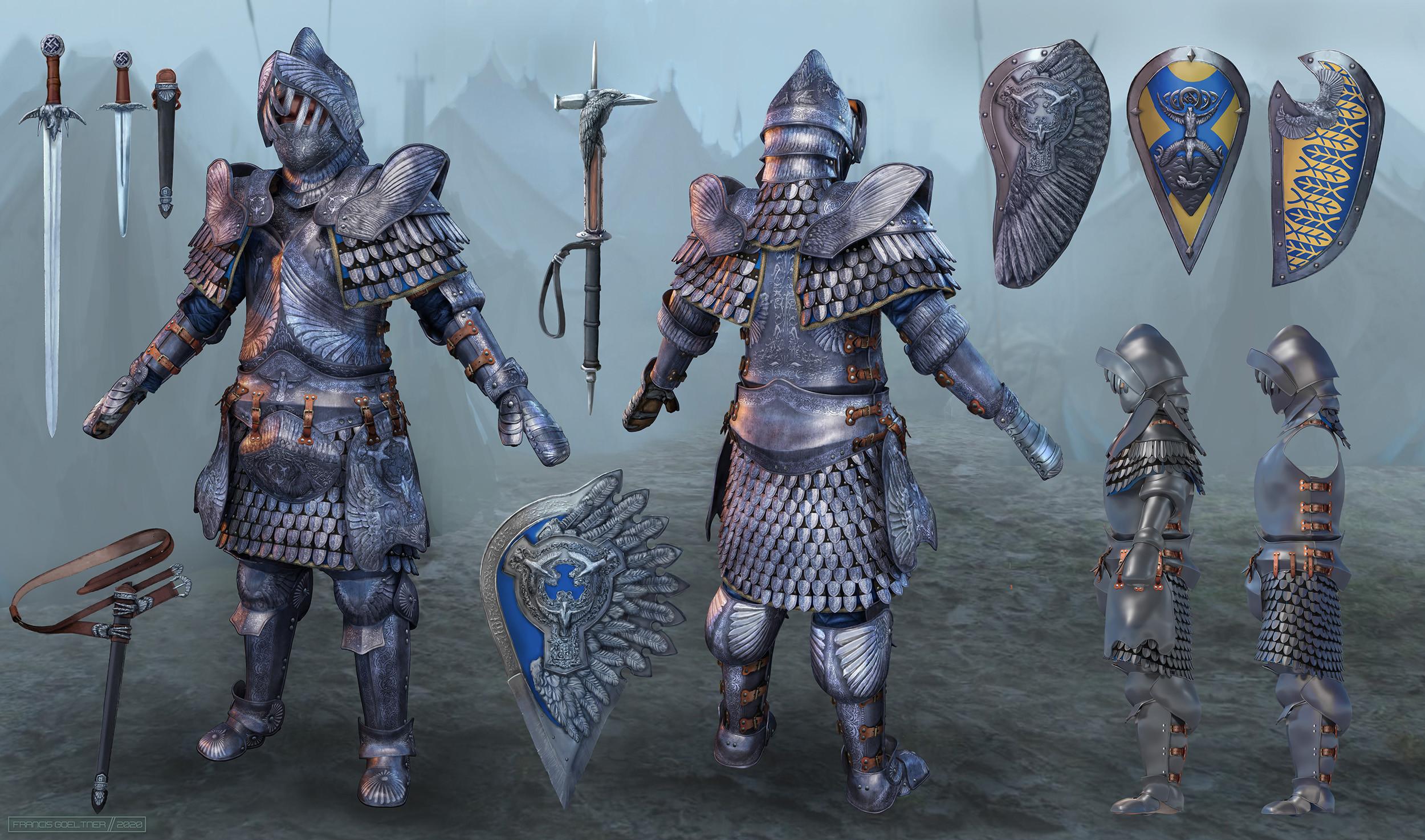 The Siege: Knight Armor Design