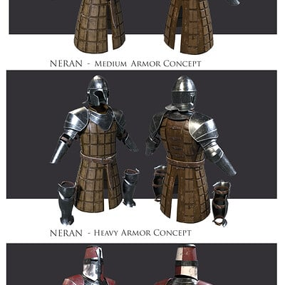 Eddie smith neran armor concept sheet