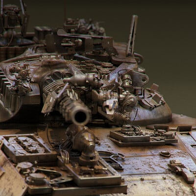 Ying te lien old tank