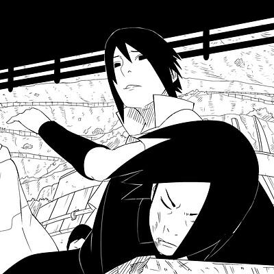 Phenky stephen uchiha sasuke ink