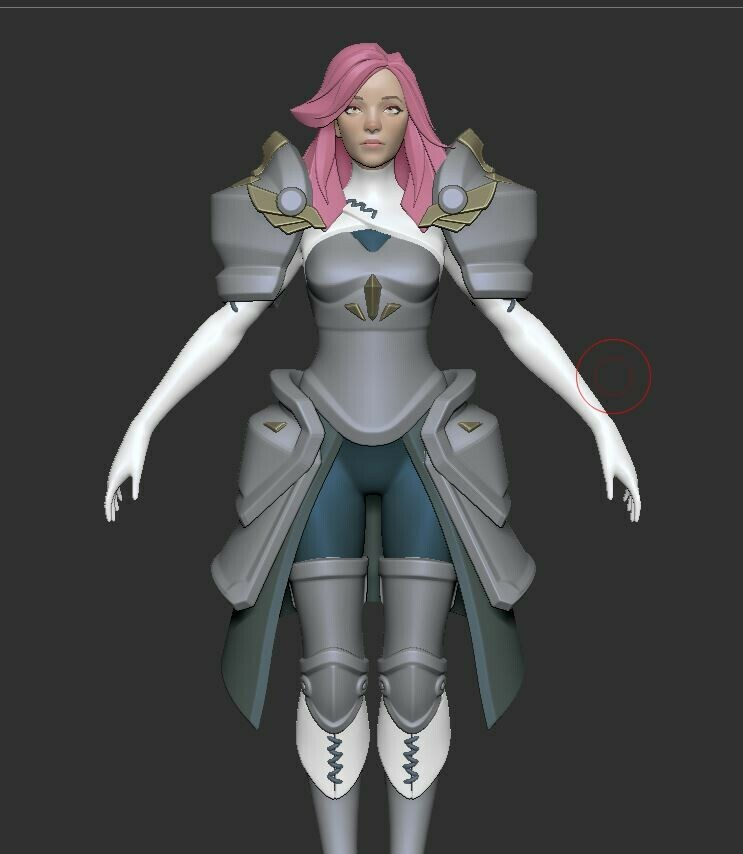 Highpoly w/ polypaint