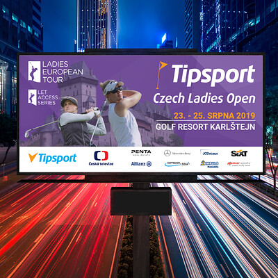 Billboard | Czech Ladies Open 2019