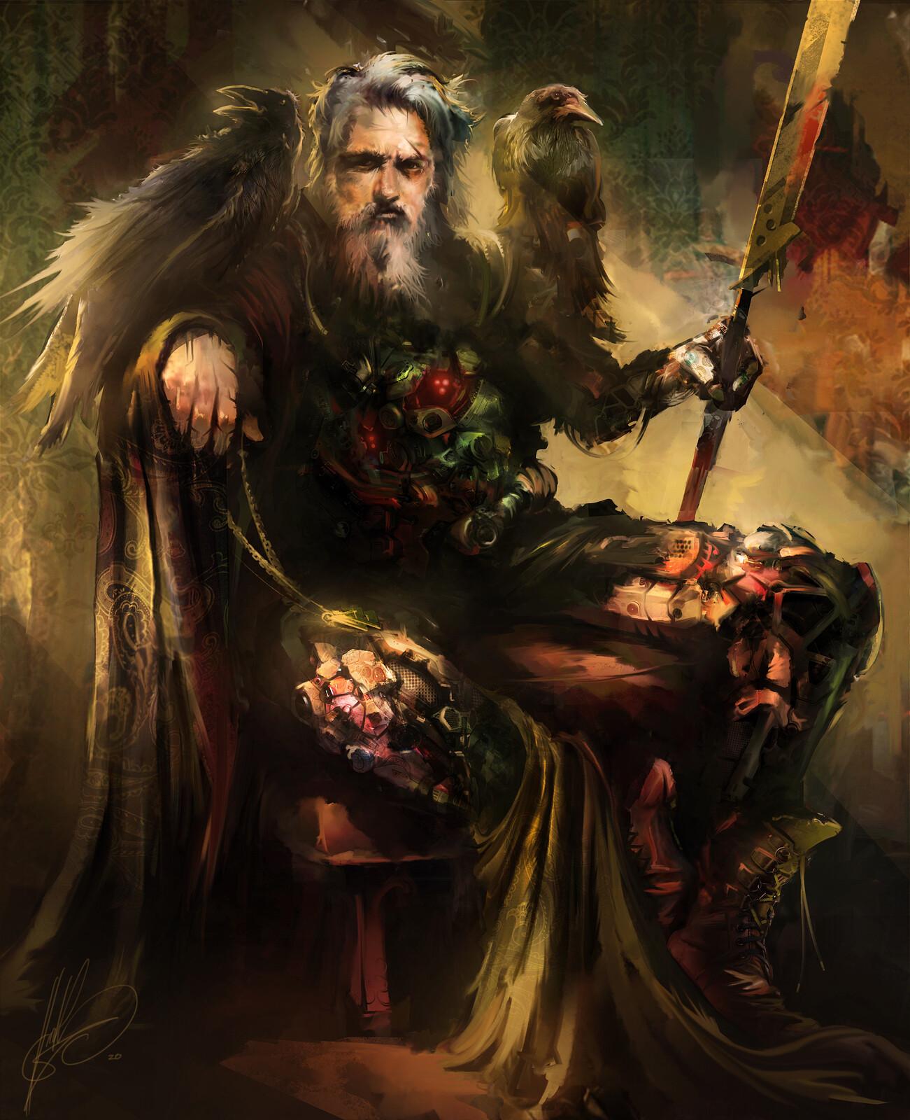 Allfather Odin