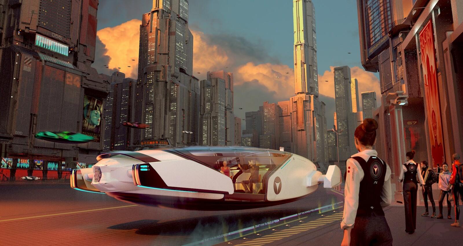 Metropolis - Arrival
