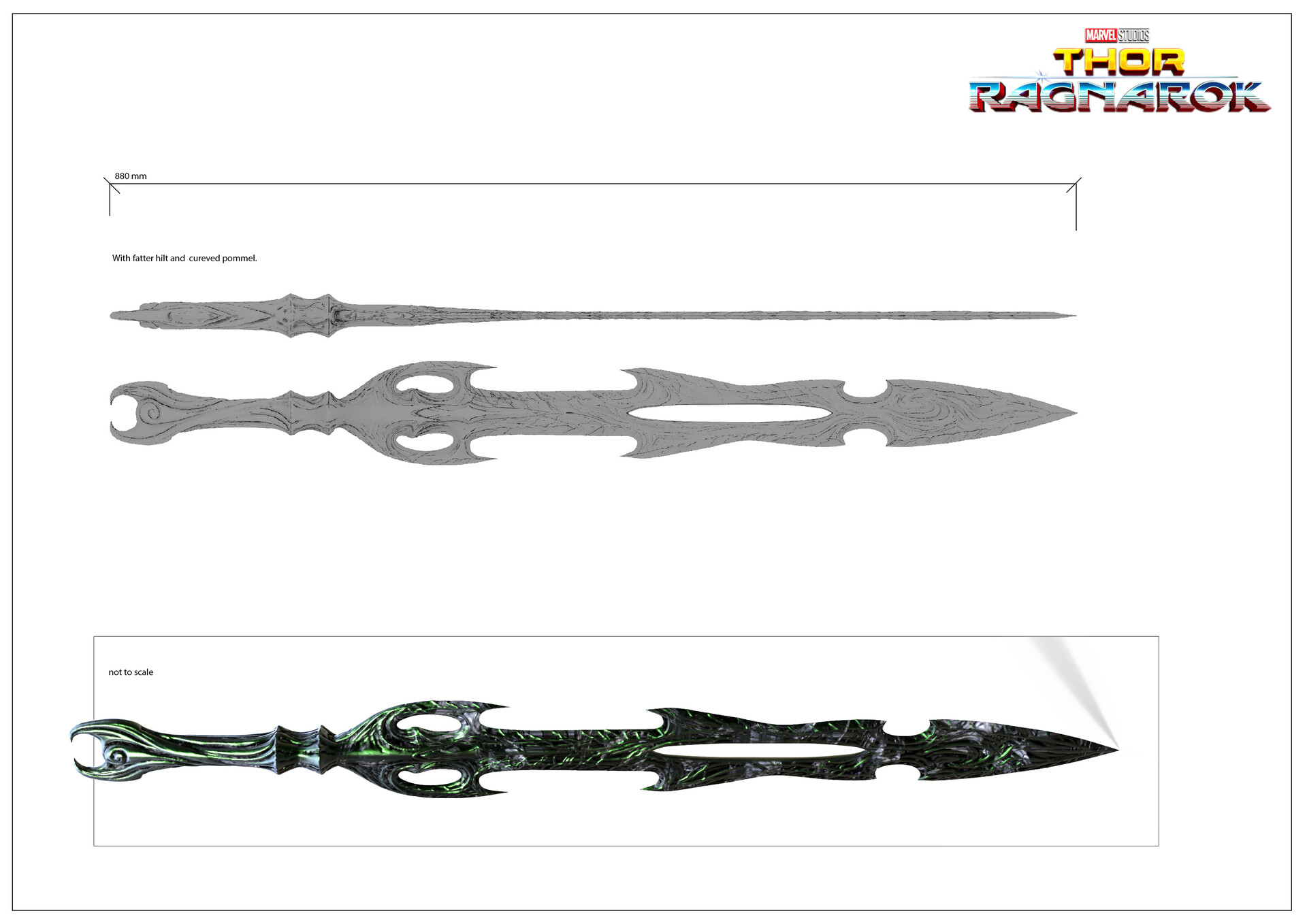 Hellas'  blade design and dimensions.