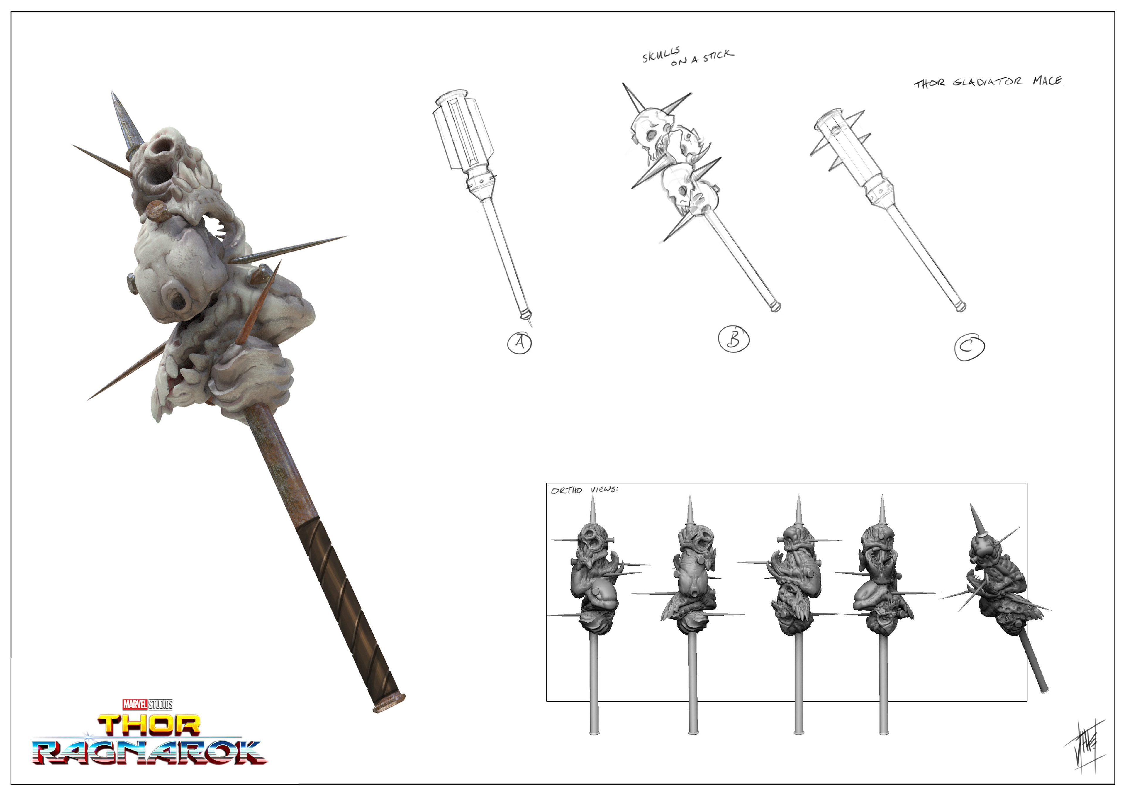 Sakar - rejected  Hulk arena weapon.