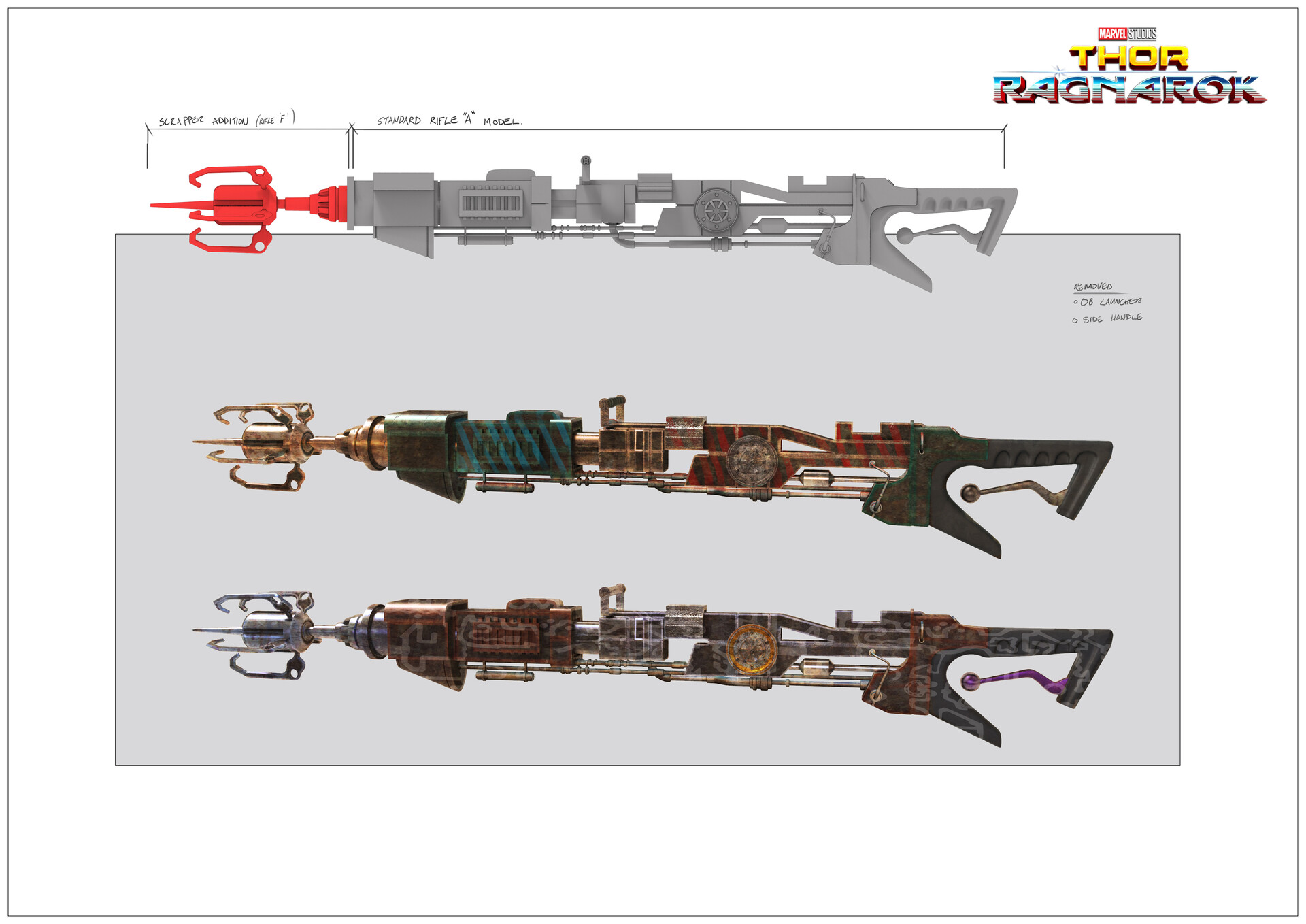 Sakaar scrapper gun variation.