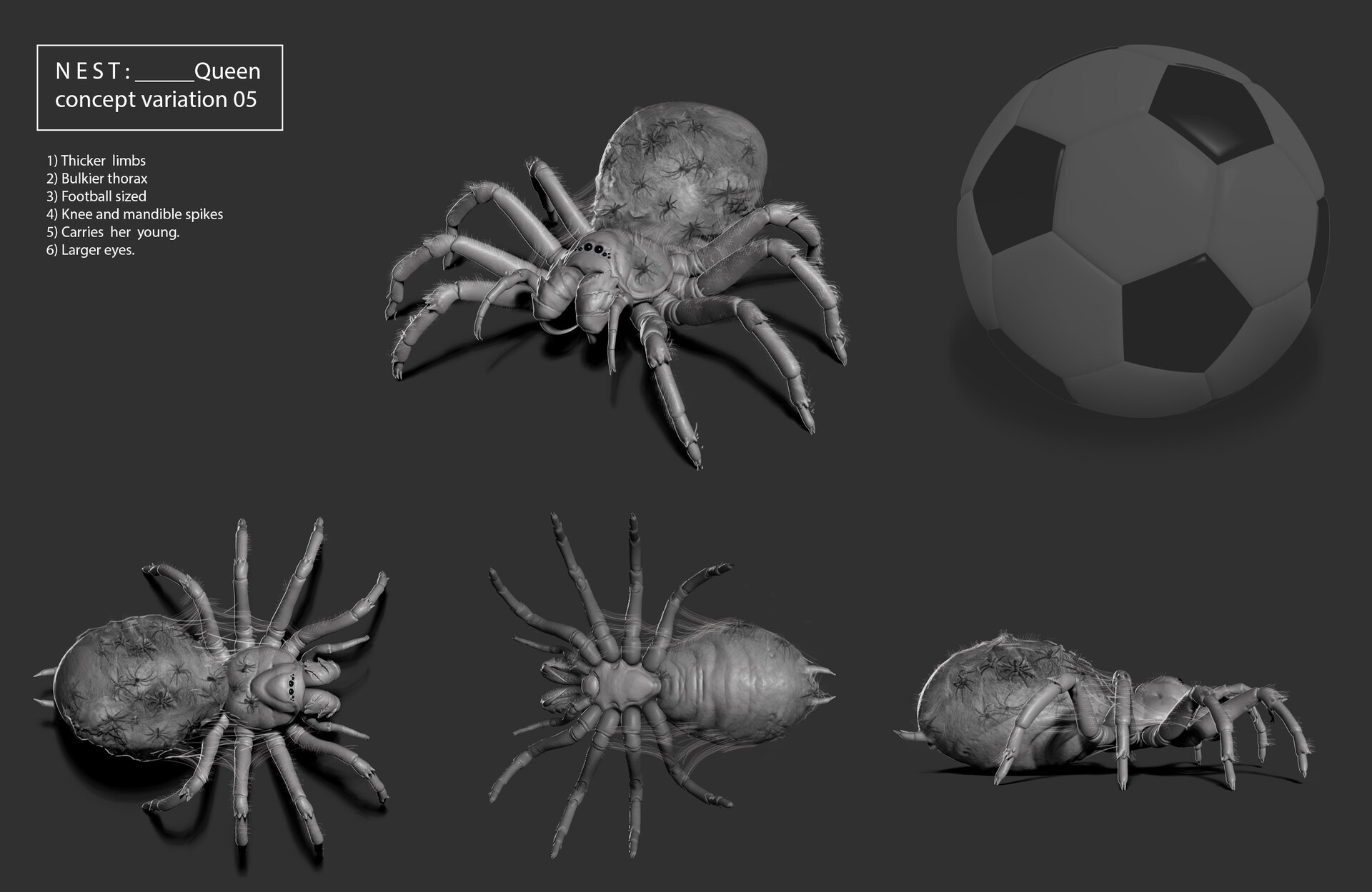 Concept illustration, variant explorations.