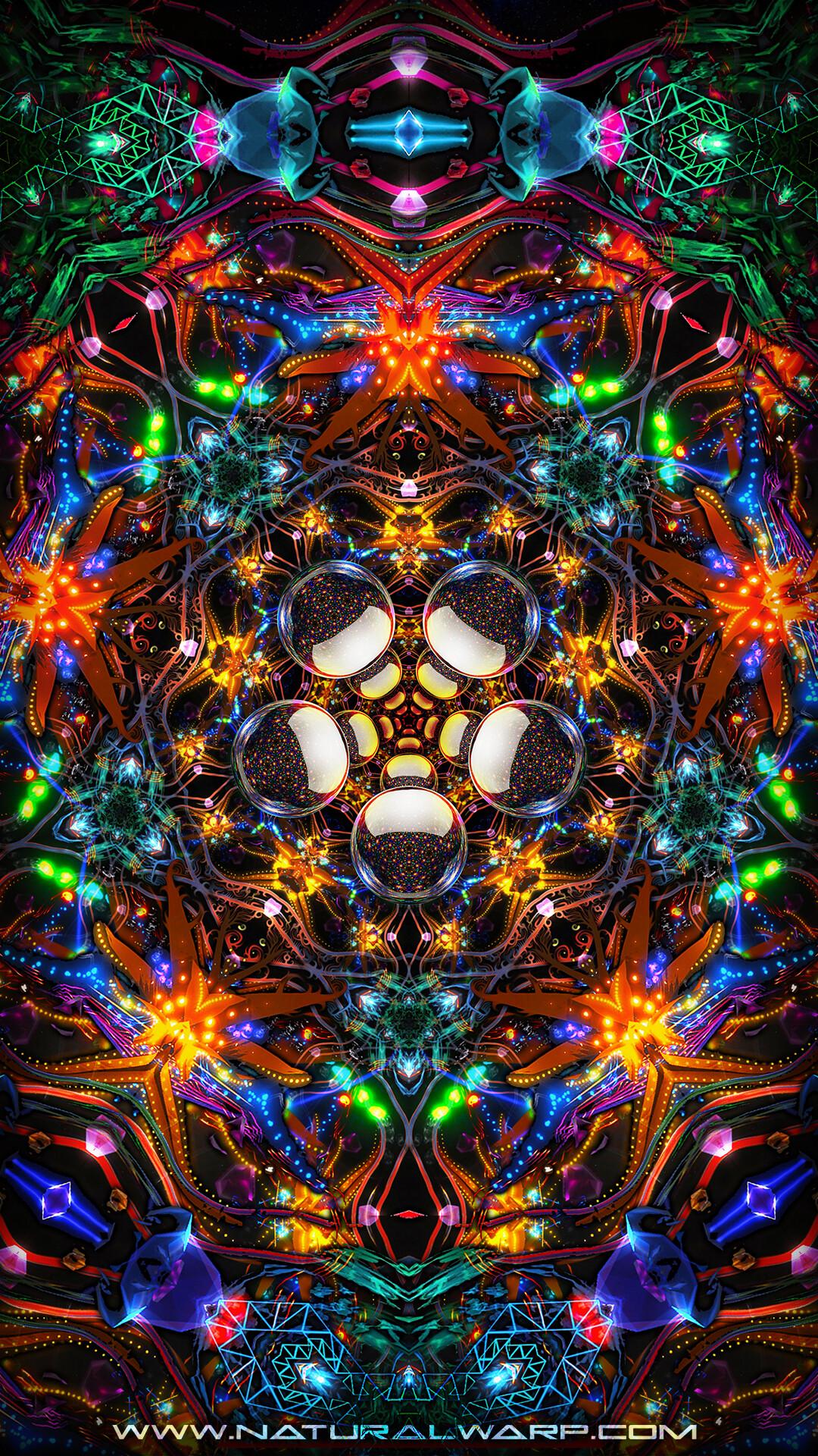 Mobile Wallpaper Natural Warp © 2020