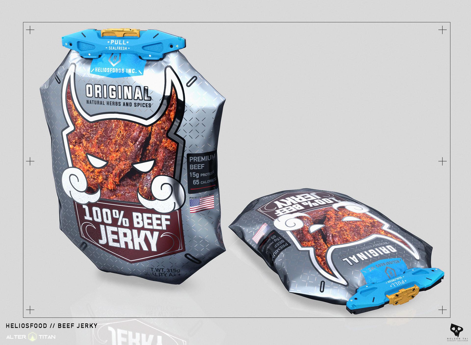 Future Beef Jerky Packaging :)