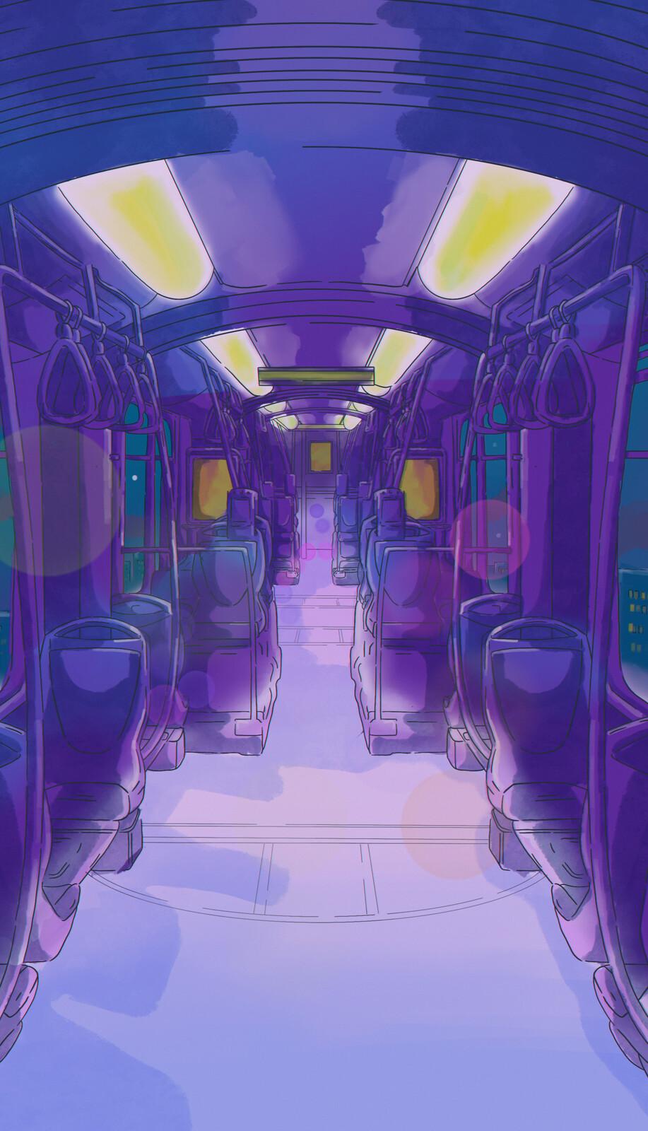 Concept Art - Train