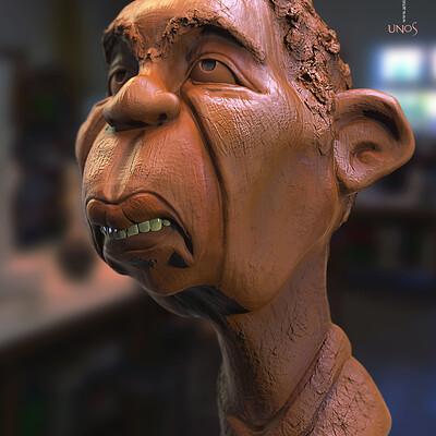 Surajit sen unos digital sculpture surajitsen march2020ss