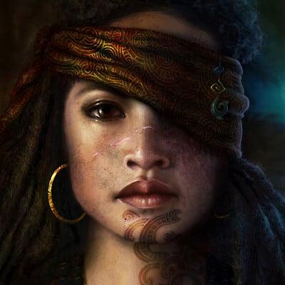 Nathascha konieczka nathascha konieczka maori pirate princess