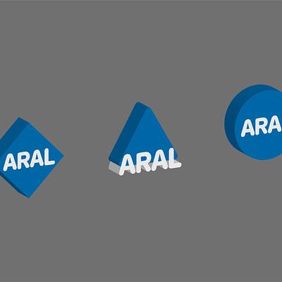 Marc michel munch aral logo entwurfe zeichenflache 1