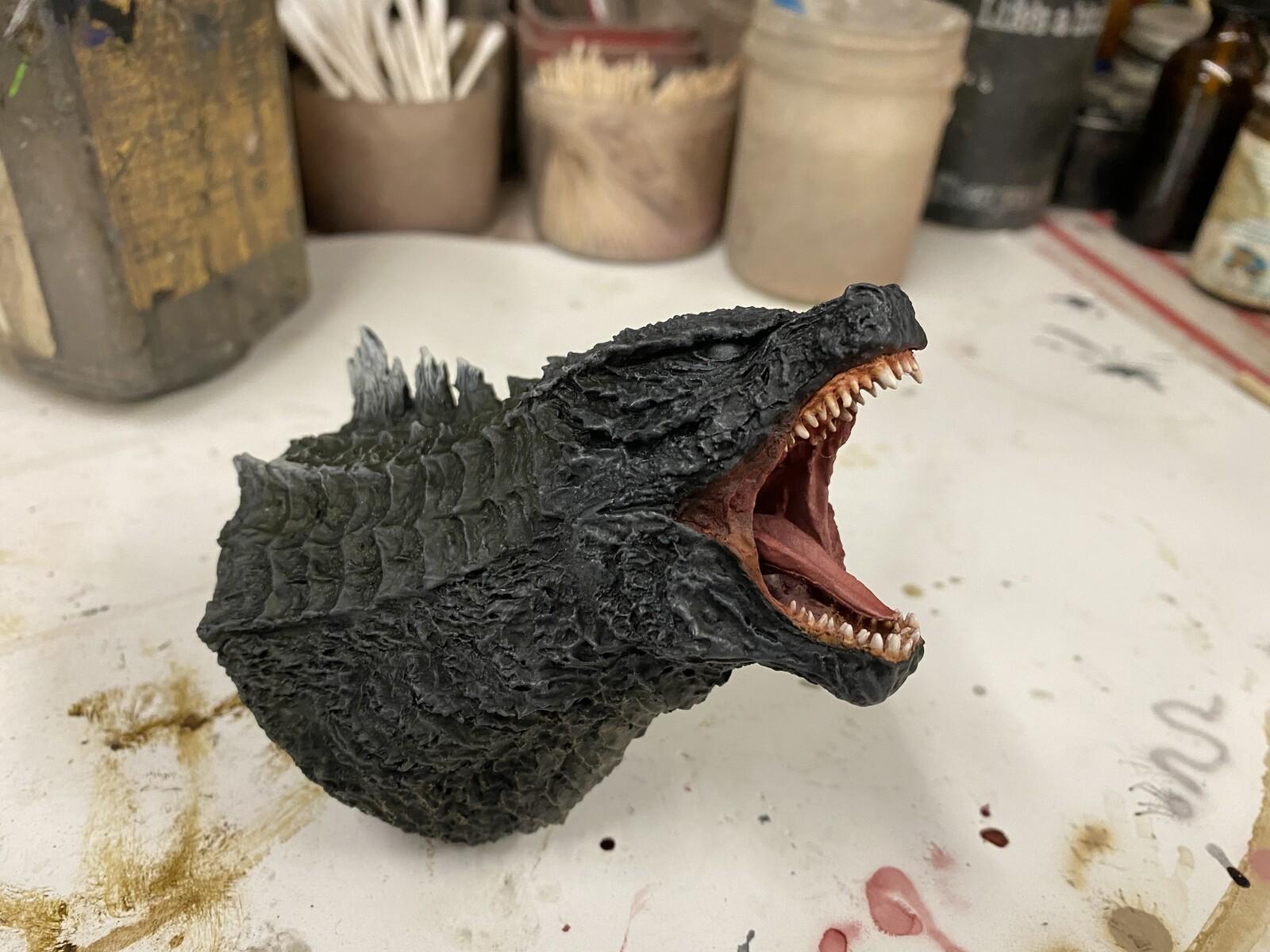 2014 Godzilla 30 cm Art Statue W.I.P .  https://www.solidart.club/