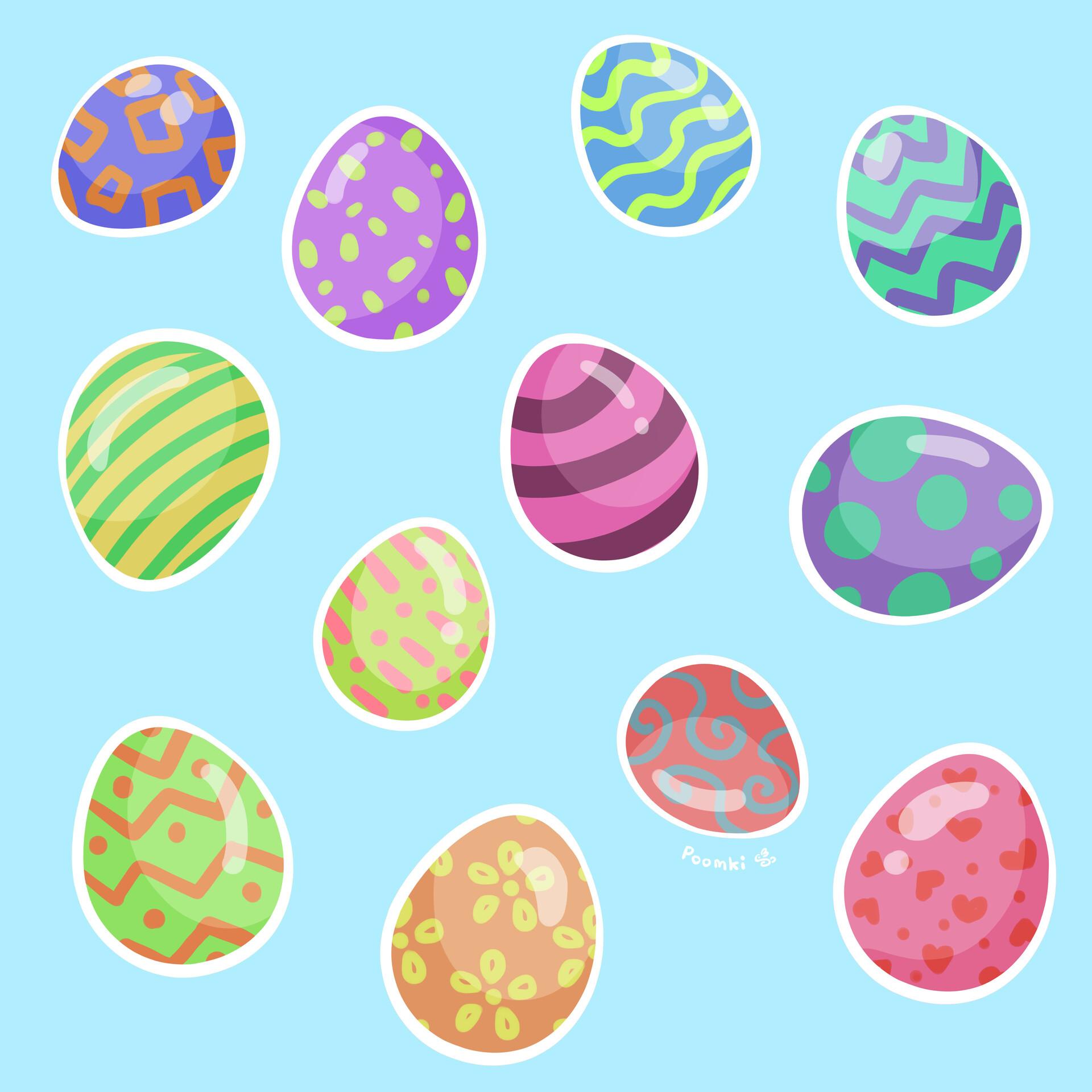 Poomki - Easter Eggies