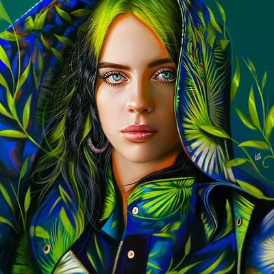 Yasar vurdem billie eilish by vurdem ddty3a1 fullview