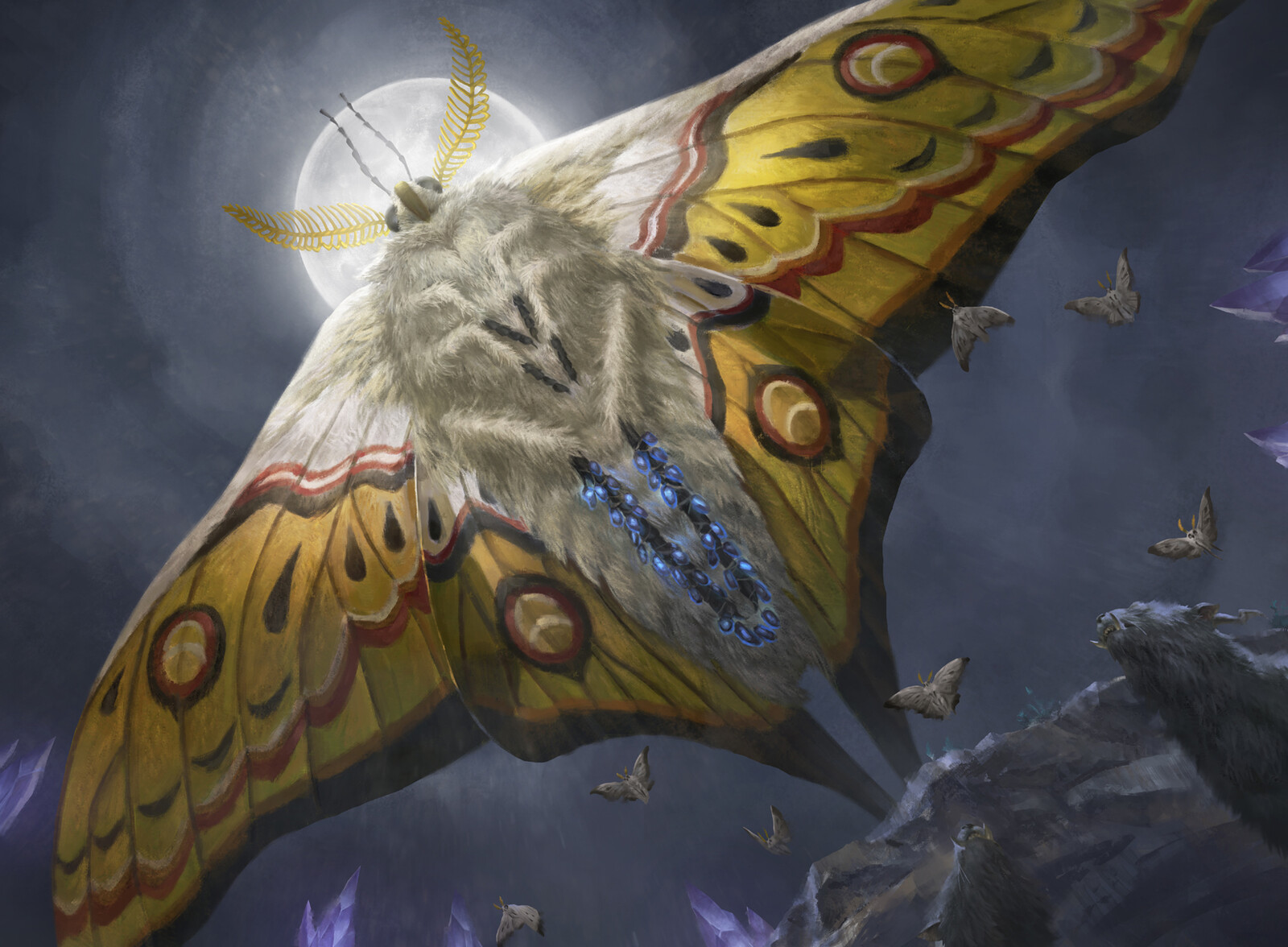 Luminous Broodmoth