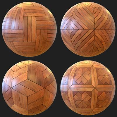 Alex akins woodenfloormatballs