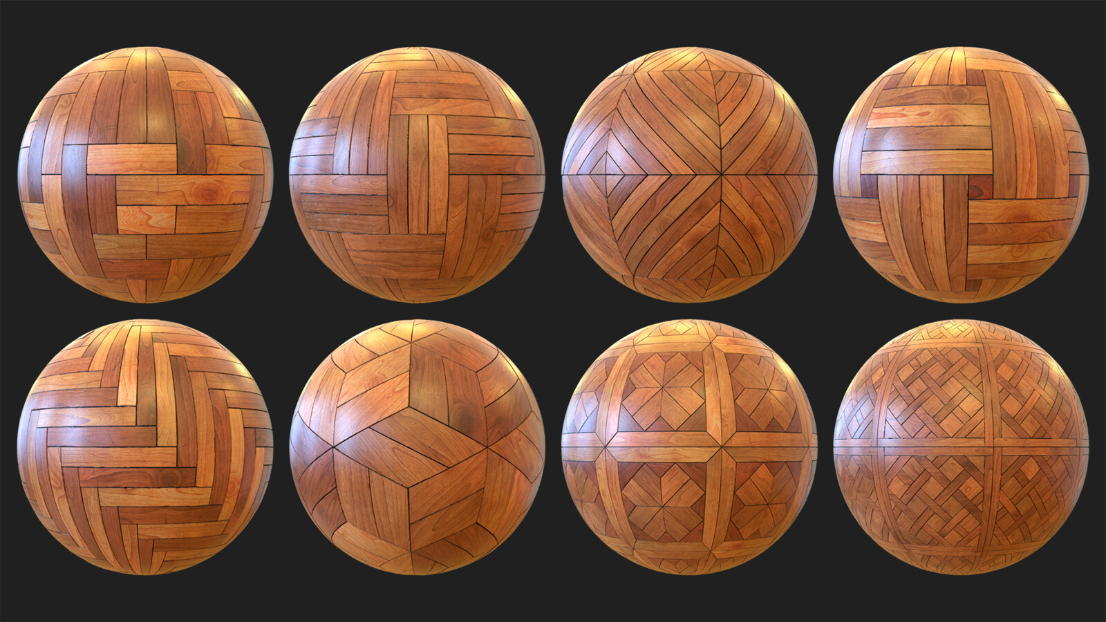 Procedural Wooden Floor Materials + Unity Shader Graph