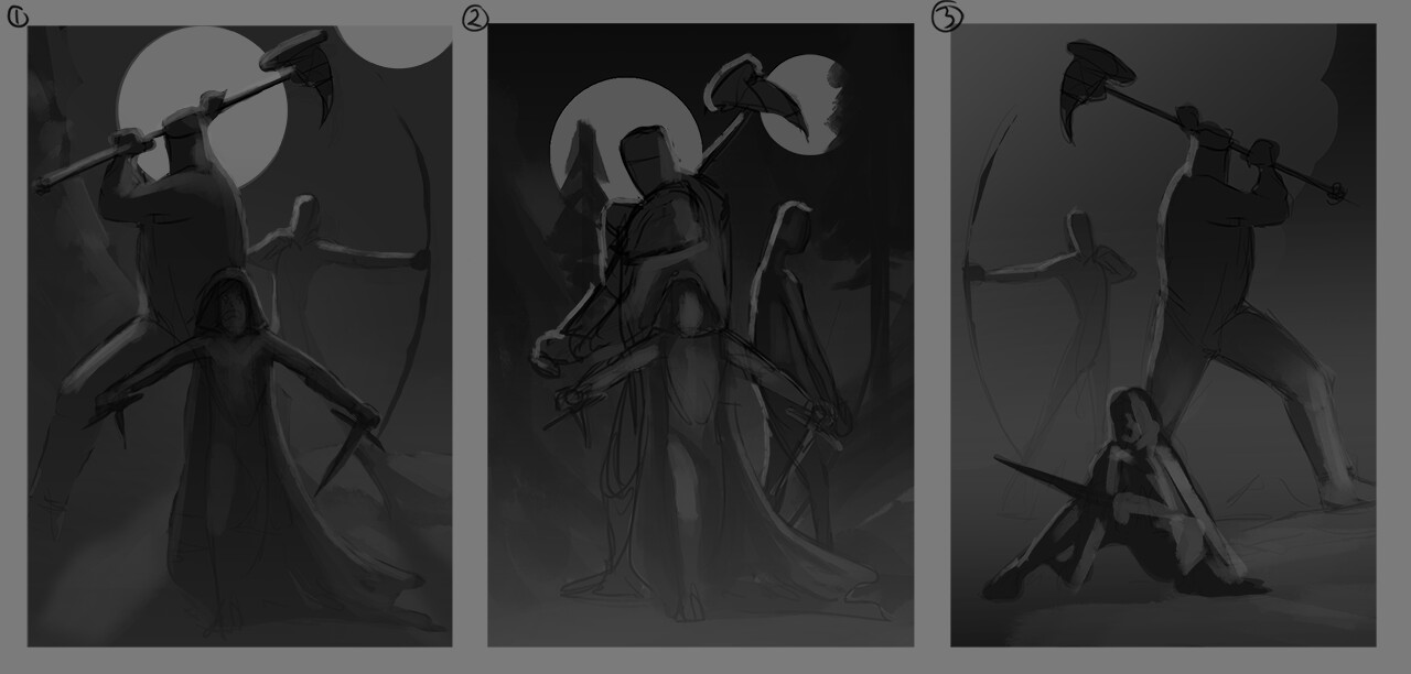 Refined composition sketches
