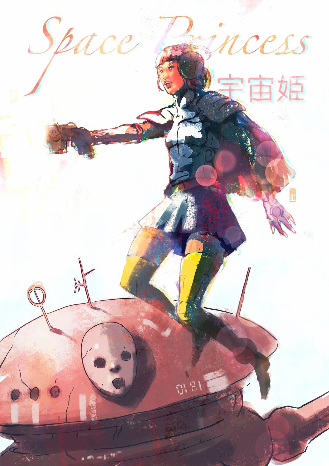 Space Princess//Vol1