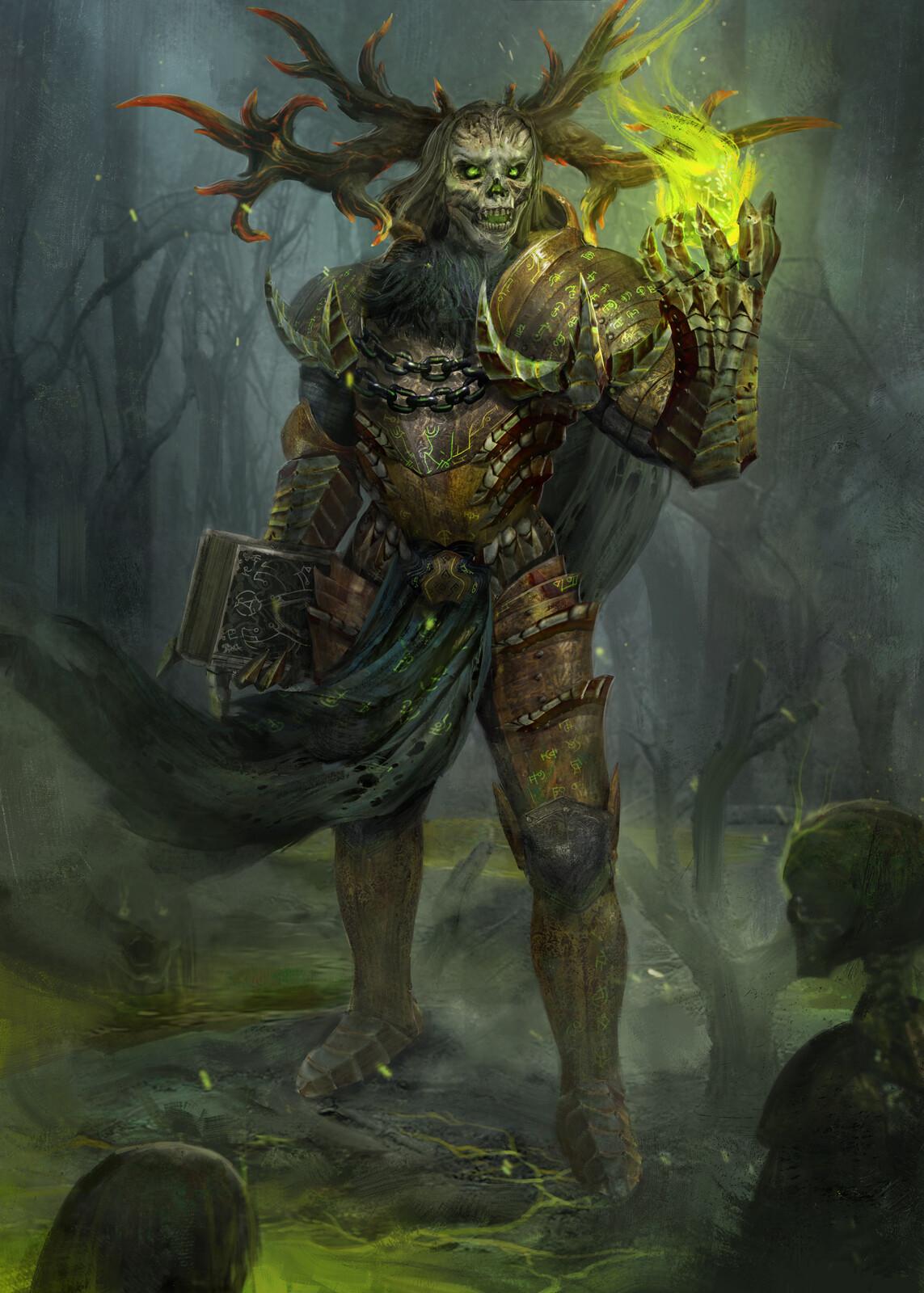 Necromancer Illustration