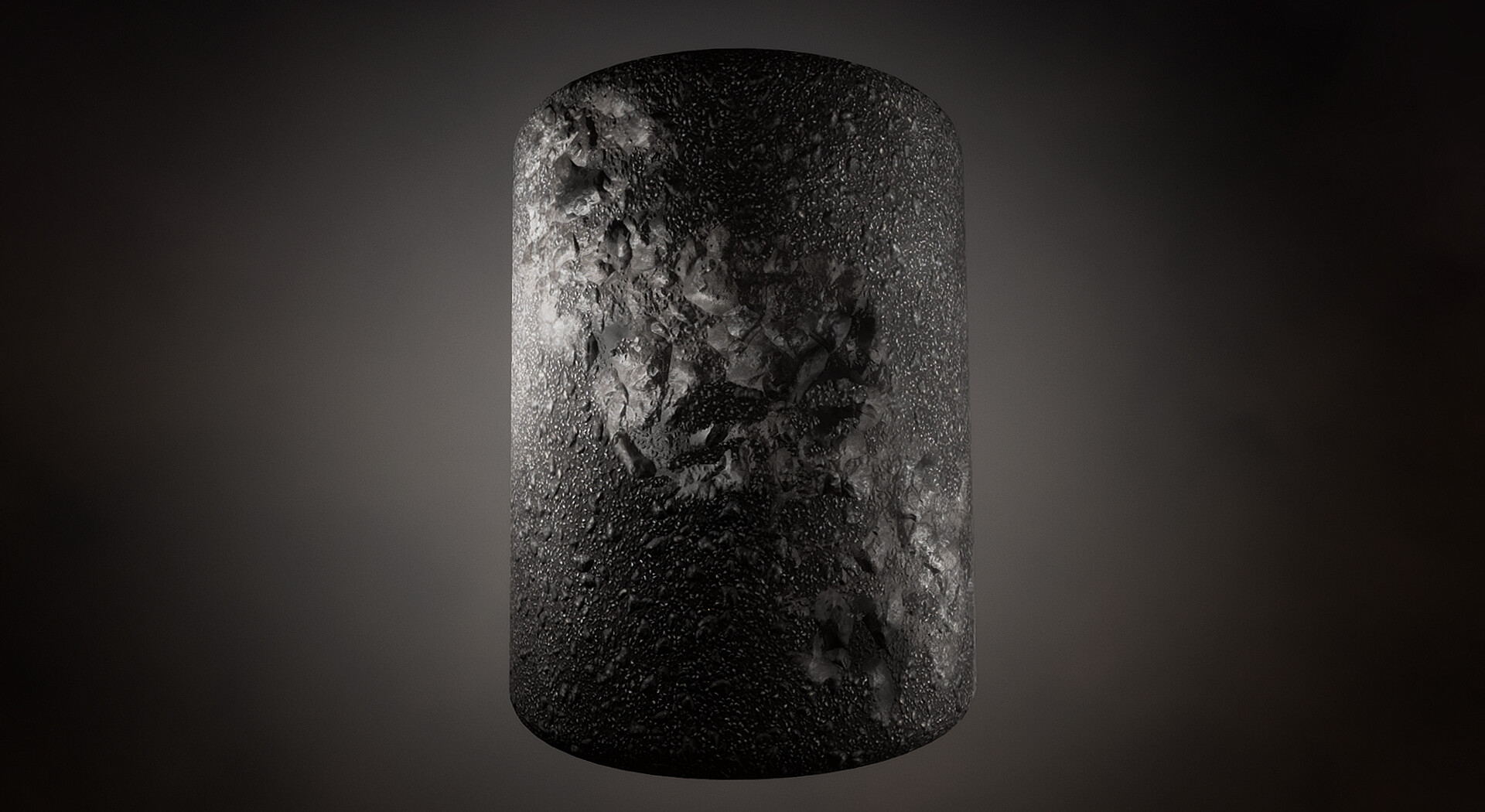 Material for Landscape - Two PBR set of textures with Shader that used Vertex Blending and Parallax Occlusion for more shape. Made With Substance Painter.