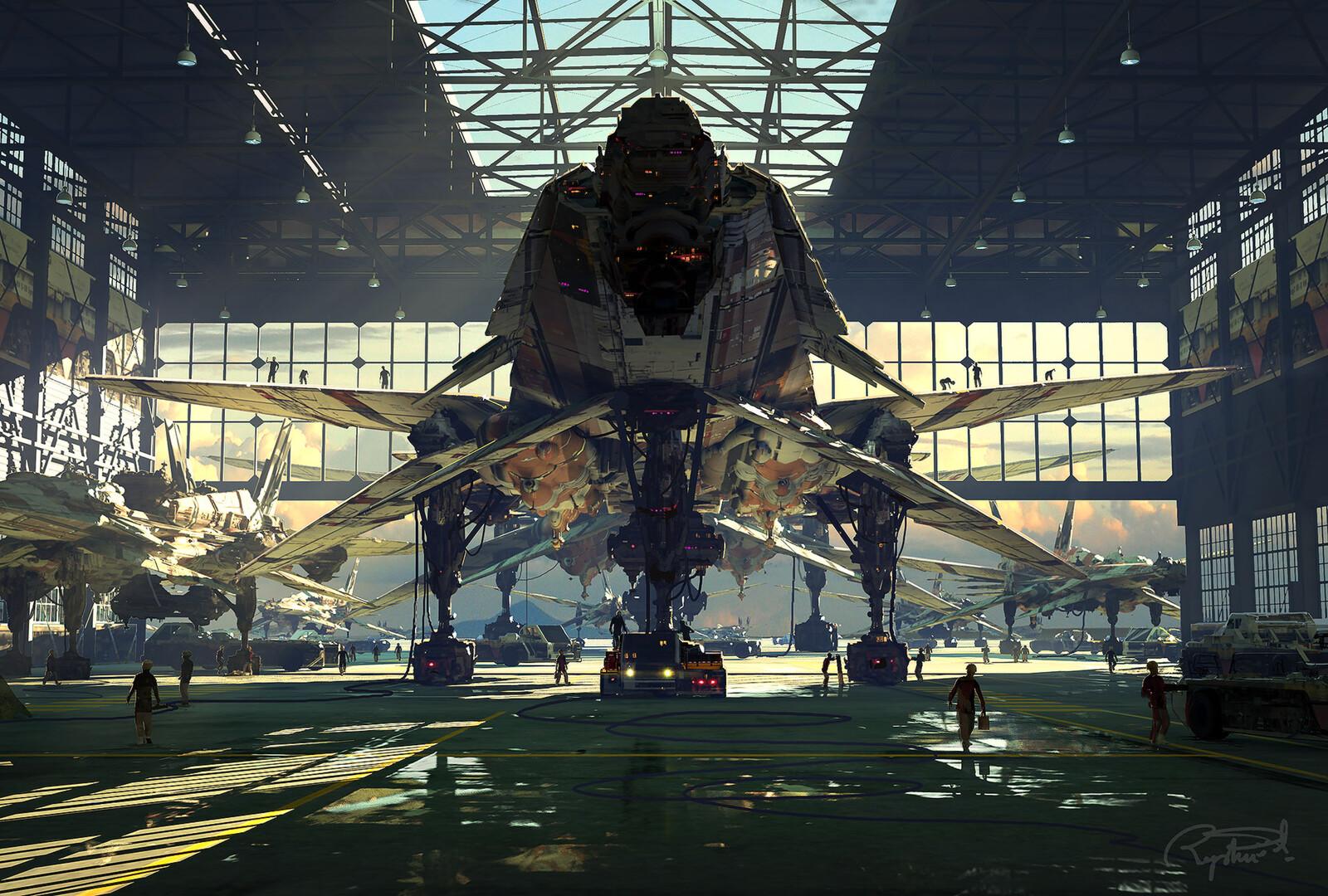 B19 Fleet (Hangar Scene)