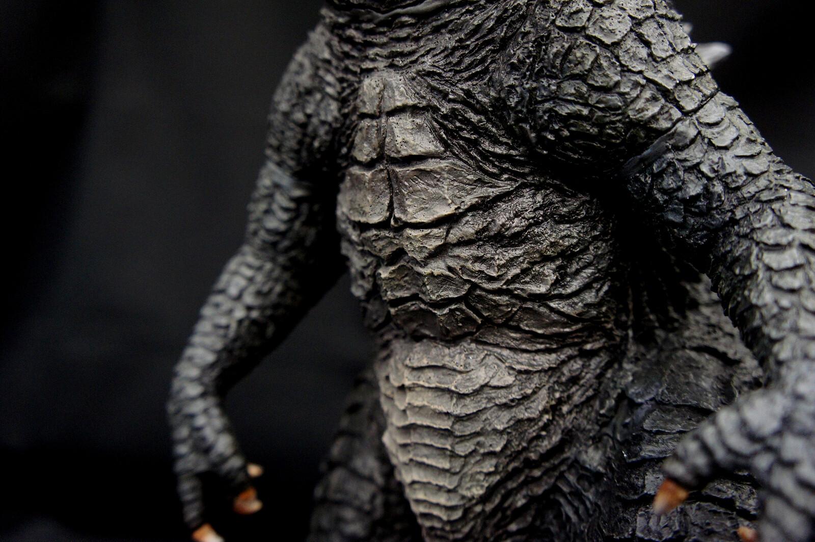 2014 Godzilla 30 cm Art Statue https://www.solidart.club/