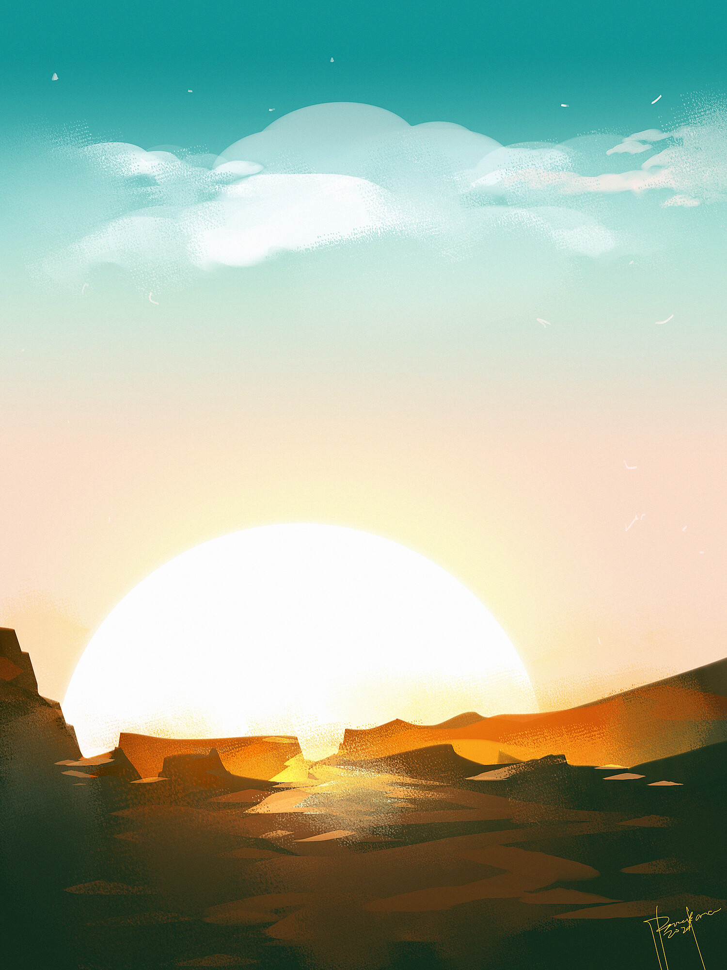 Speedpaint SUNRISE