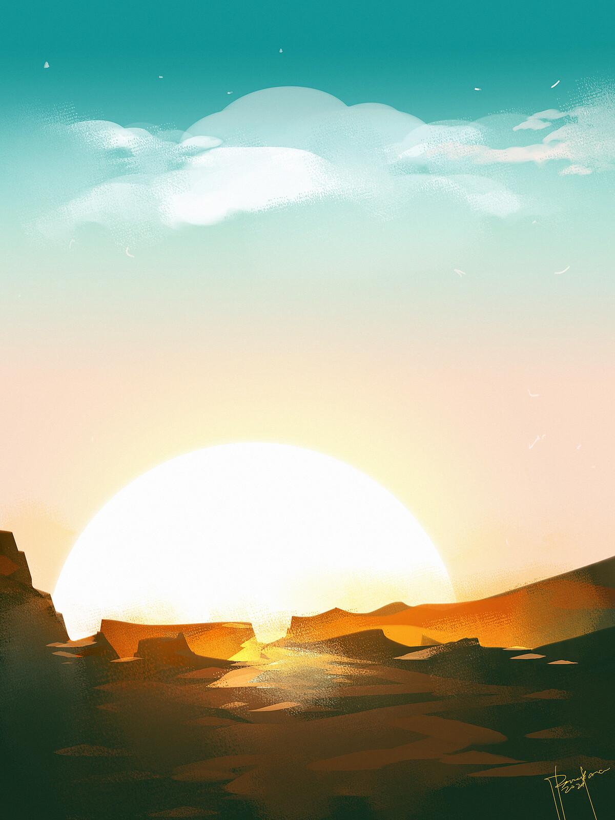 Speedpaint SUNRISE