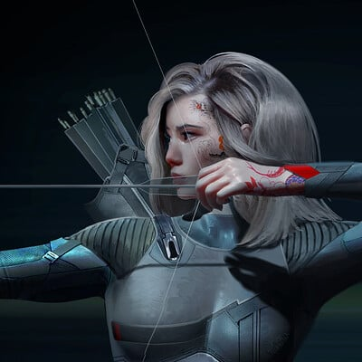 Luis carrasco archer 03 closeup