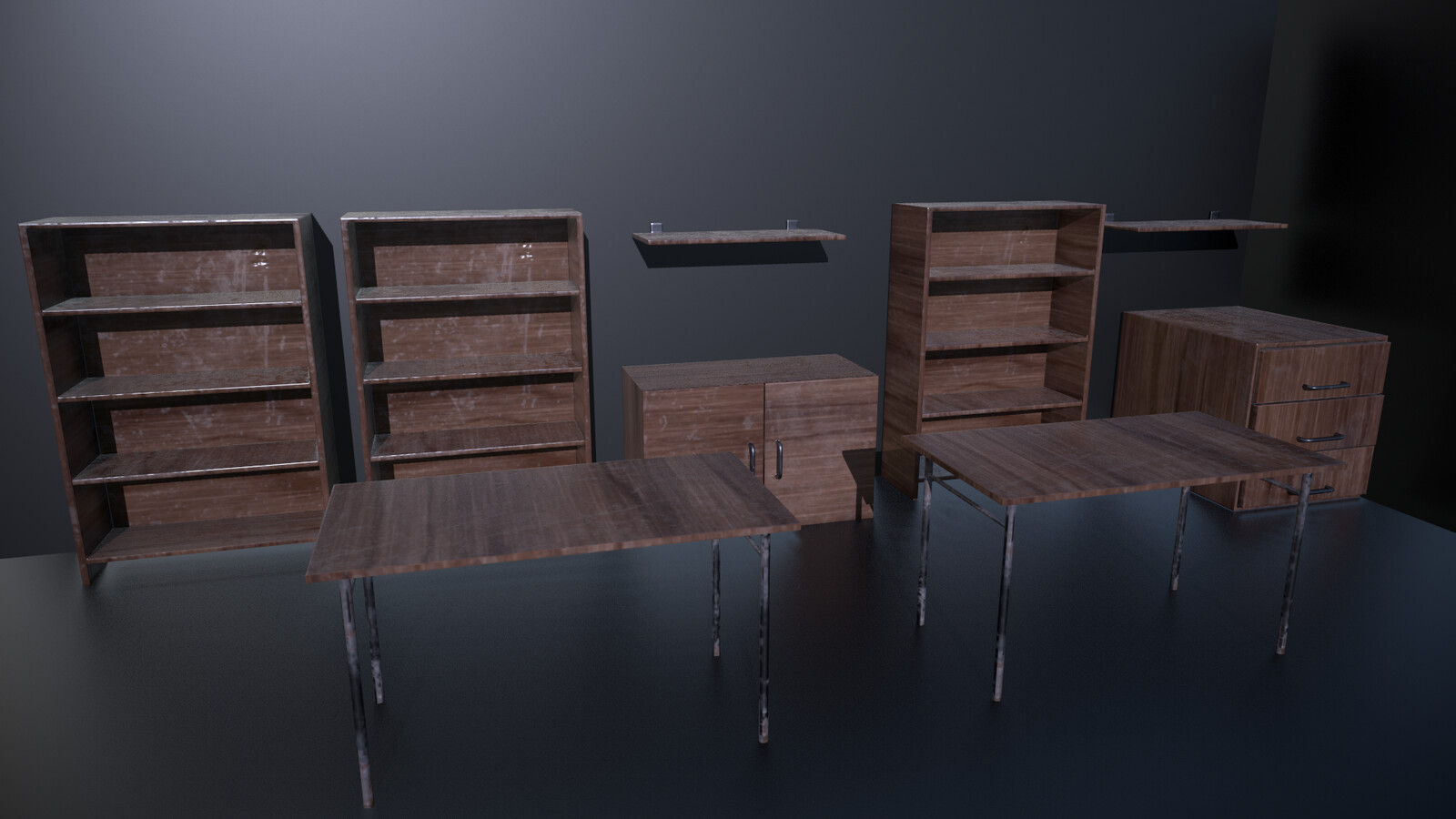 Furniture - five different props