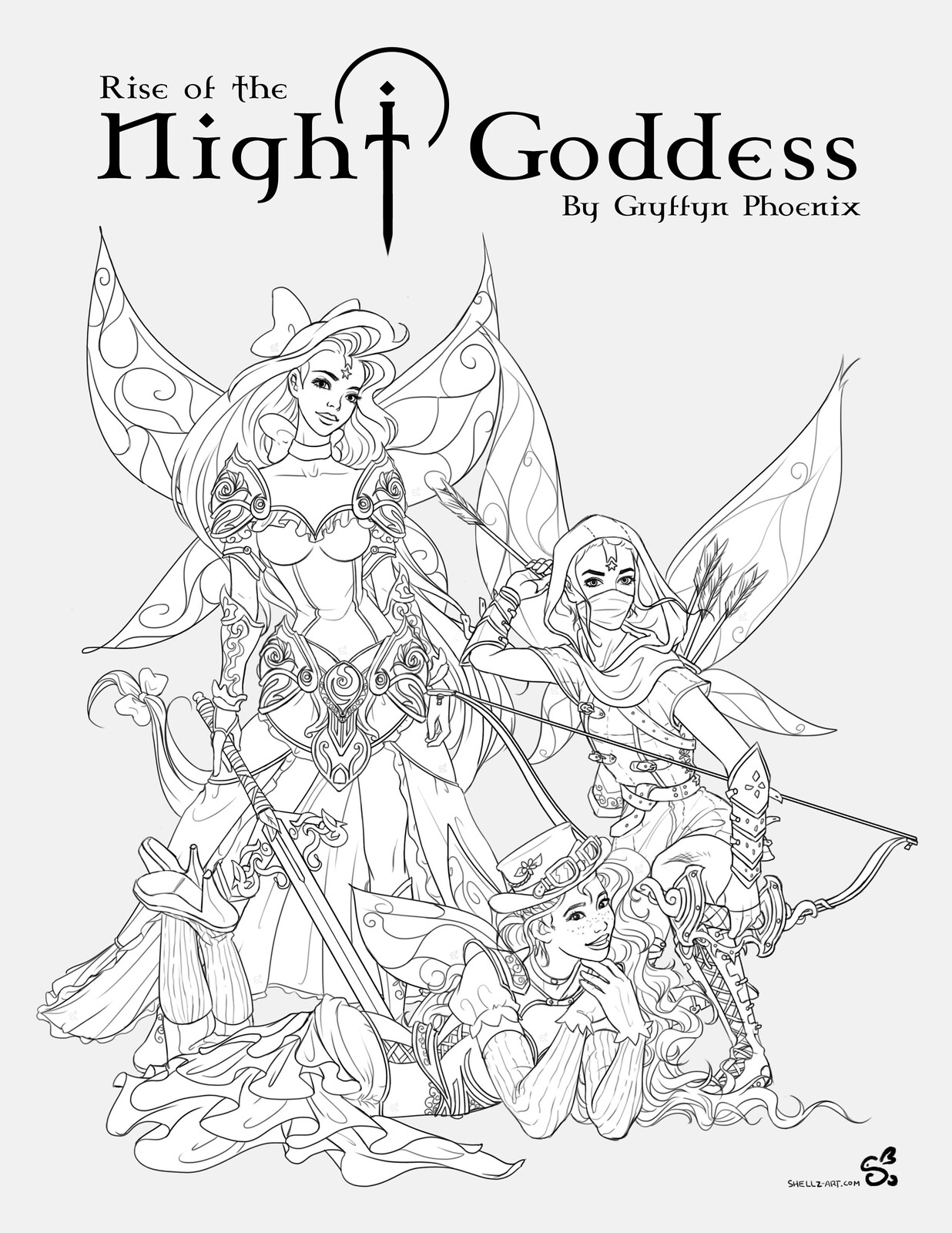 Avalerion Books | Rise of the Night Goddess - The Aguane