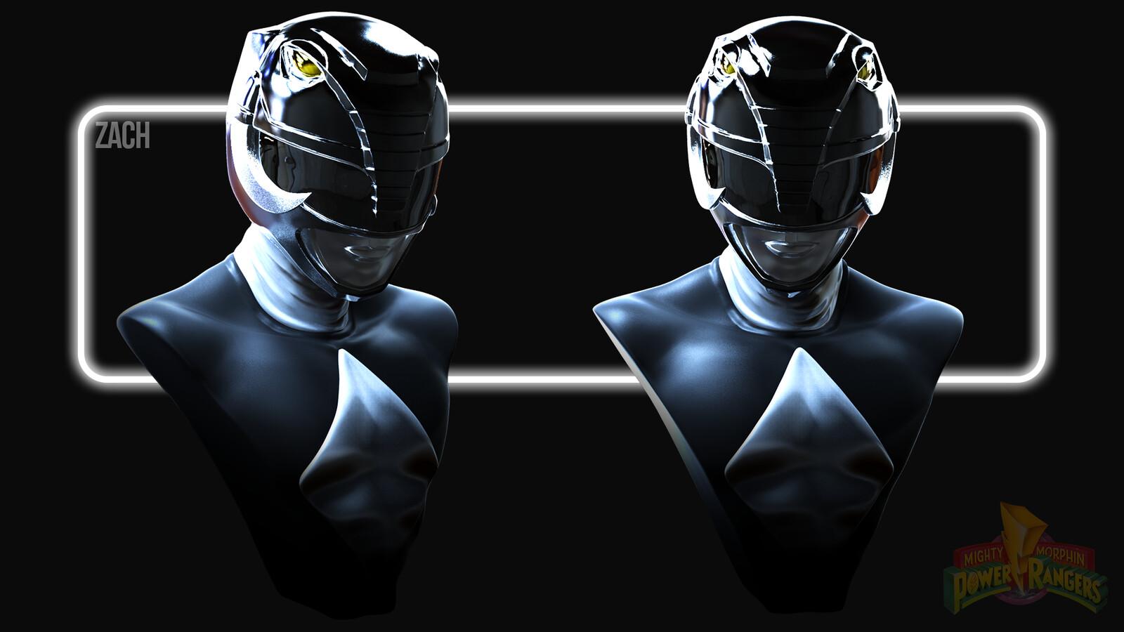 Zachary Taylor the Black Power Ranger